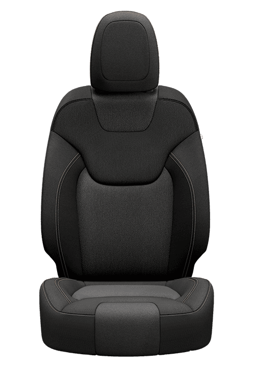 Cloth – Black with Light Frost accent stitching