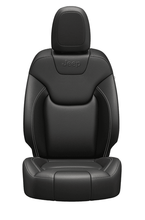 Nappa leather-faced – Black with Light Frost accent stitching