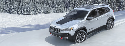 Jeep Cherokee 2019 Silver Best in Class 4x4 Capability