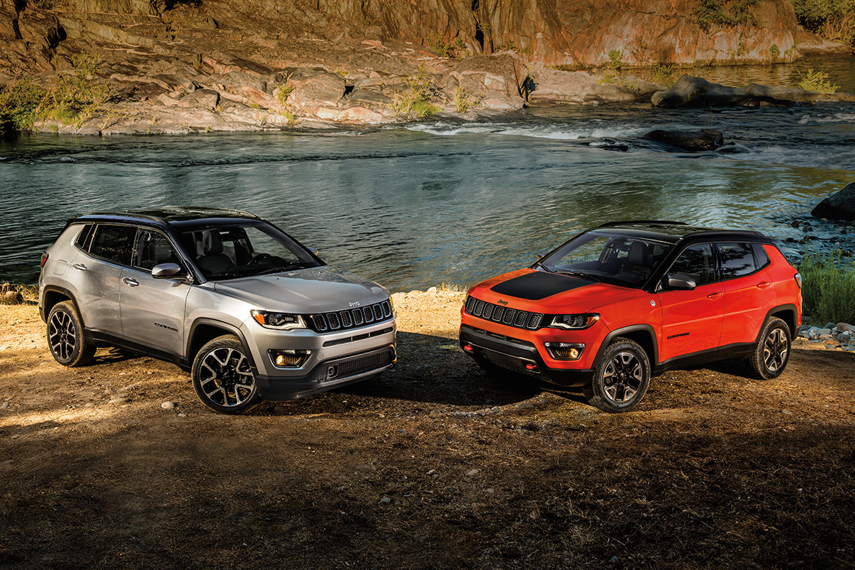 2018 jeep compass. wonderful 2018 2018 jeep compass red and grey exteriors in jeep