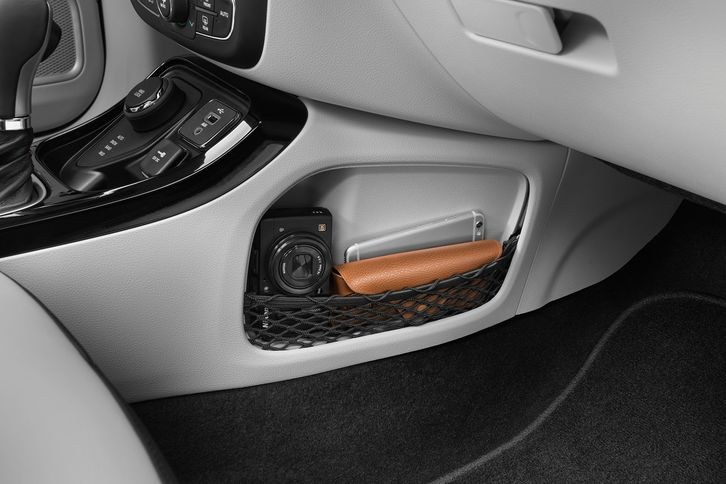 2018 jeep compass interior storage