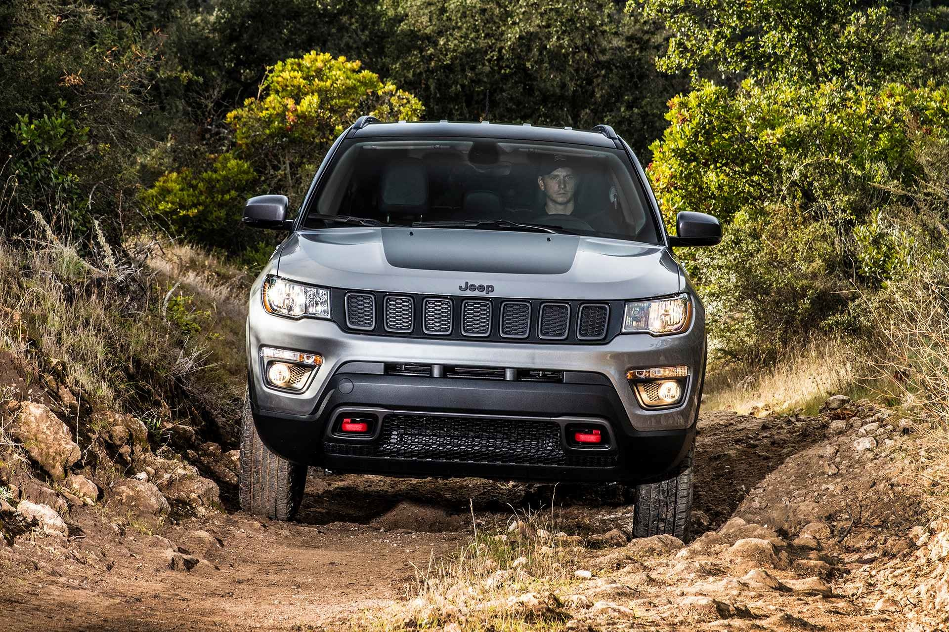 2019 Jeep Compass driving off-road