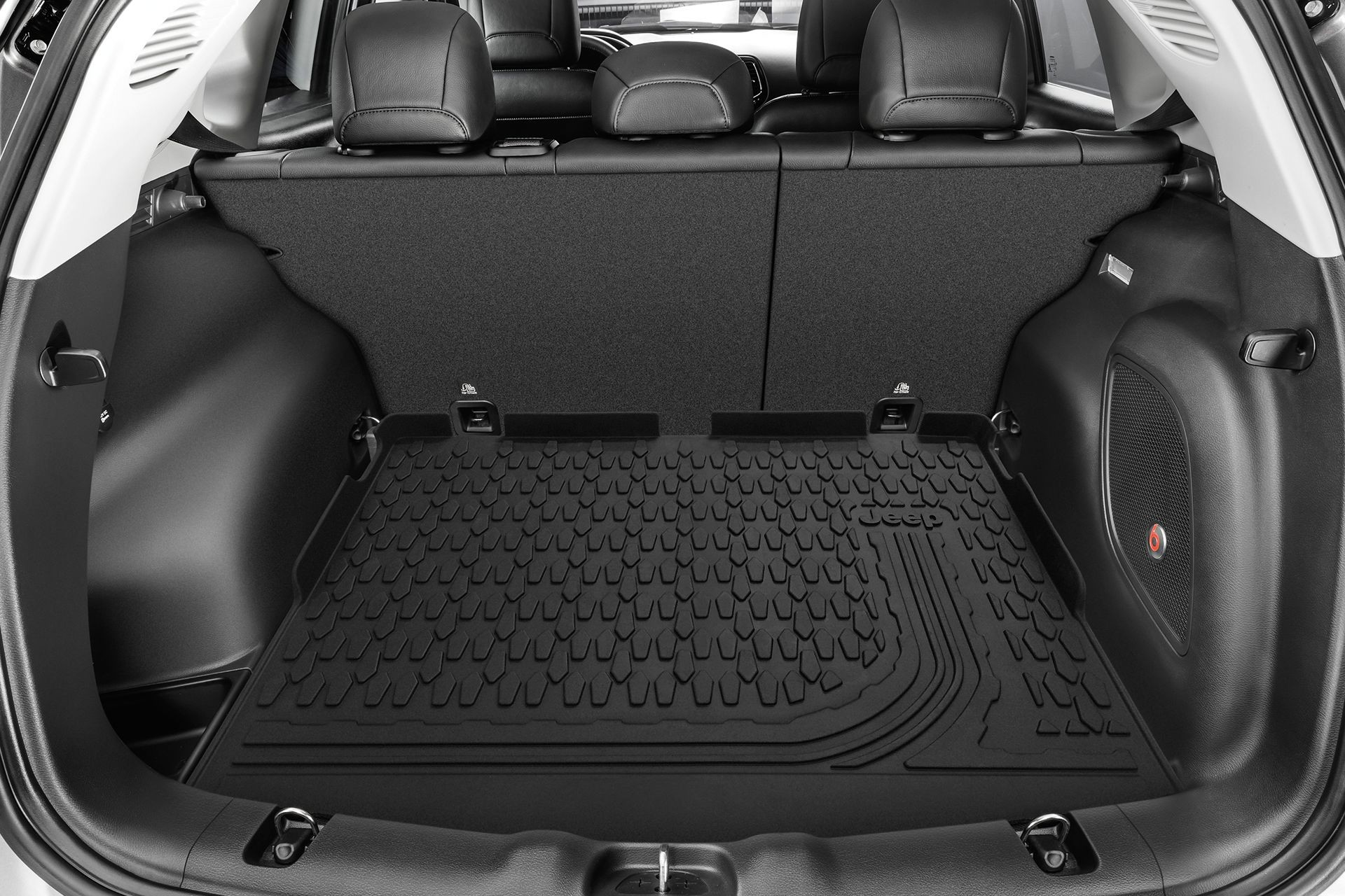 2019 Jeep Compass rear interior cargo