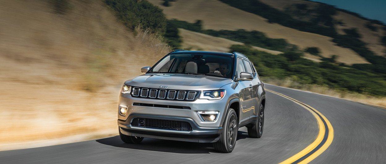 2019 Jeep Compass SUV grey charcoal