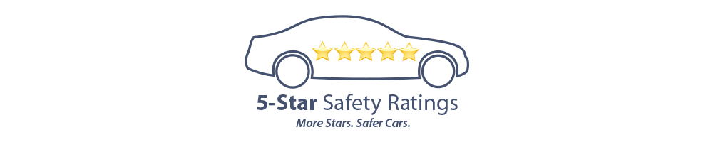 The 2017 Jeep<sub>®</sub> Grand Cherokee 4x4 received an overall 5-star safety rating from the National Highway Traffic Safety Administration