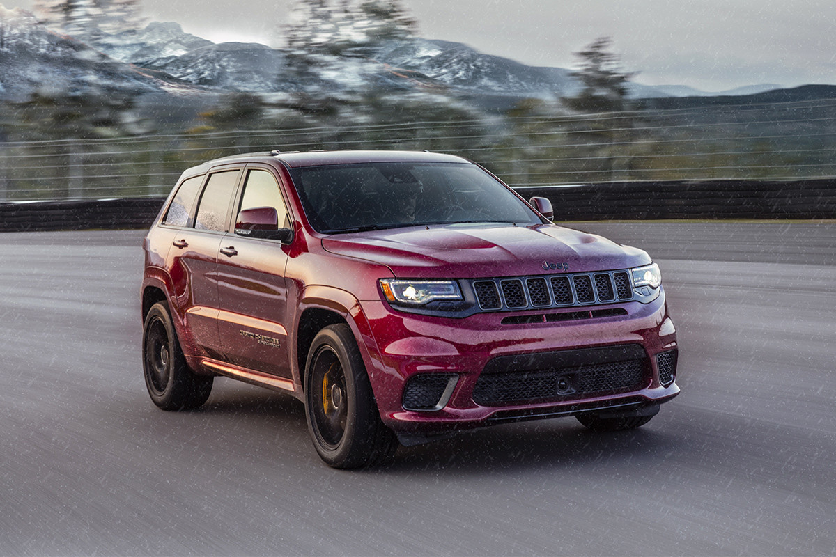 2018 Jeep Grand Cherokee Best-in-Class 4x4 capability
