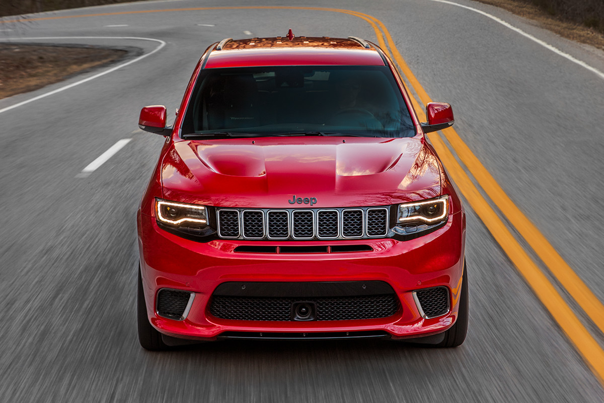 VUS Jeep Grand Cherokee 2018 – ensemble sécurité active