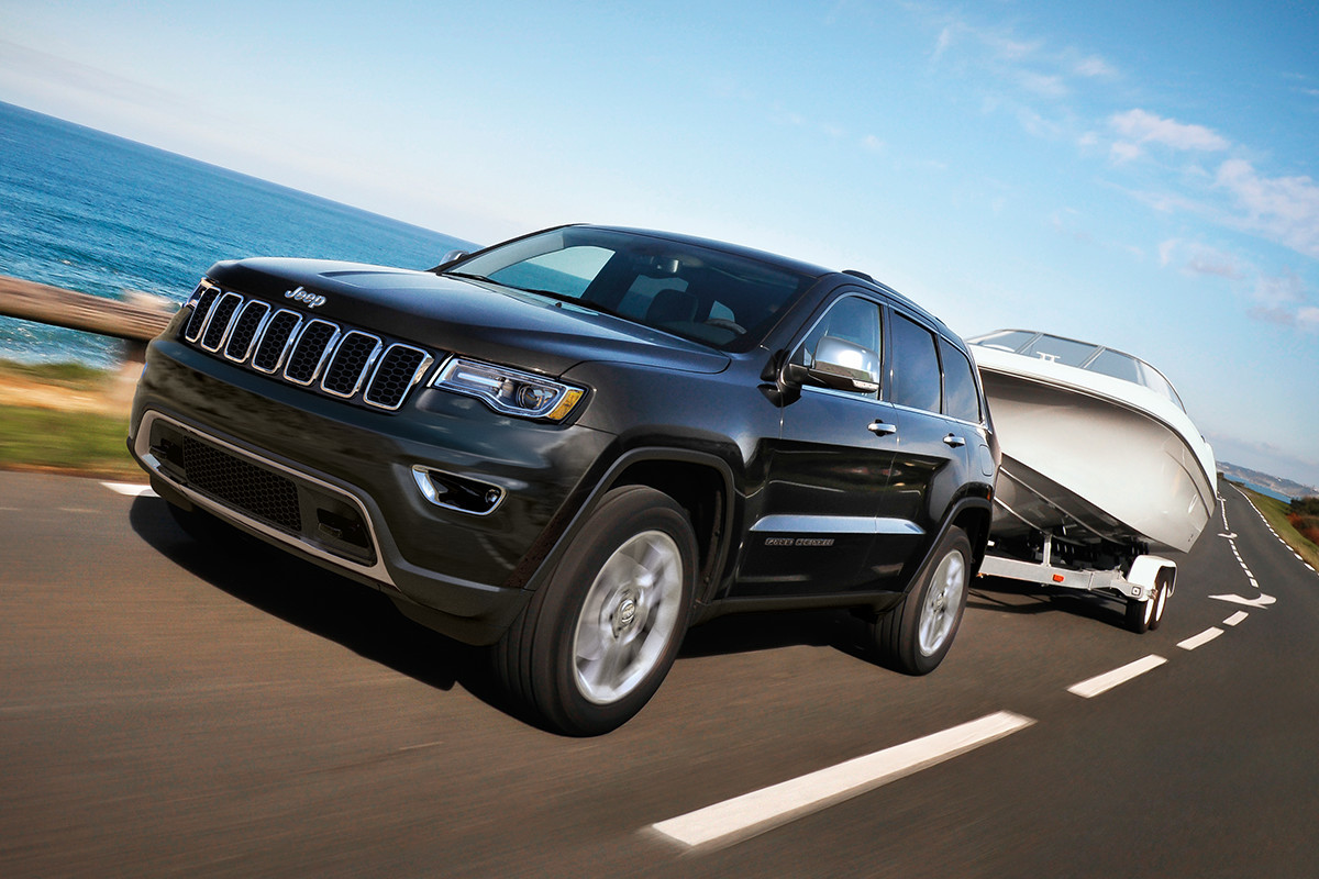 2018 Jeep Grand Cherokee SUV Best-In-Class towing