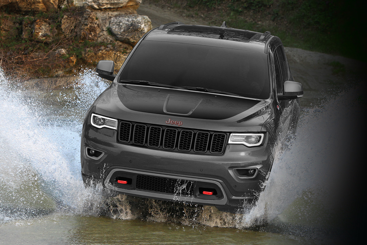 VUS Jeep Grand Cherokee 2018 – suspension pneumatique Quadra-Lift