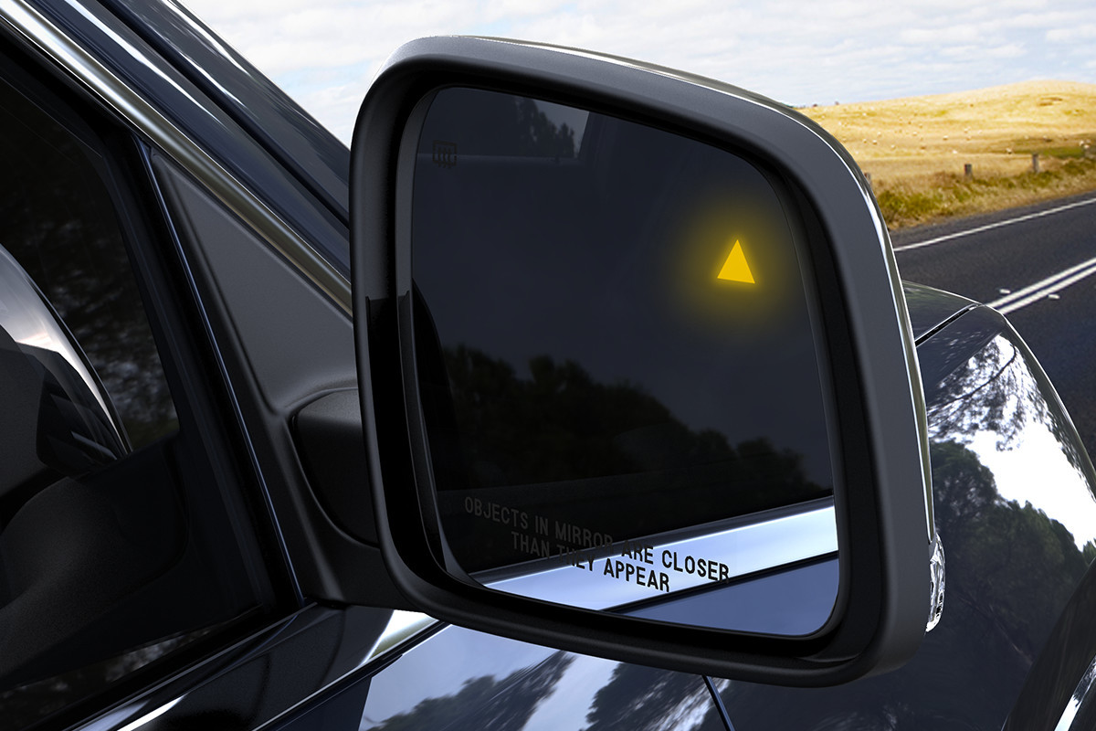 2018 Jeep Grand Cherokee SUV Blind Spot Monitoring System