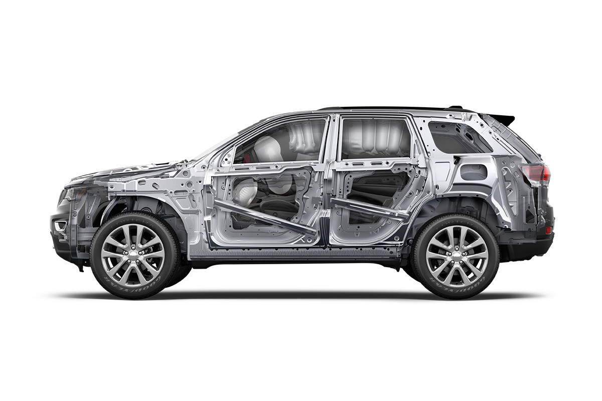 2018 Jeep Grand Cherokee SUV standard safety features