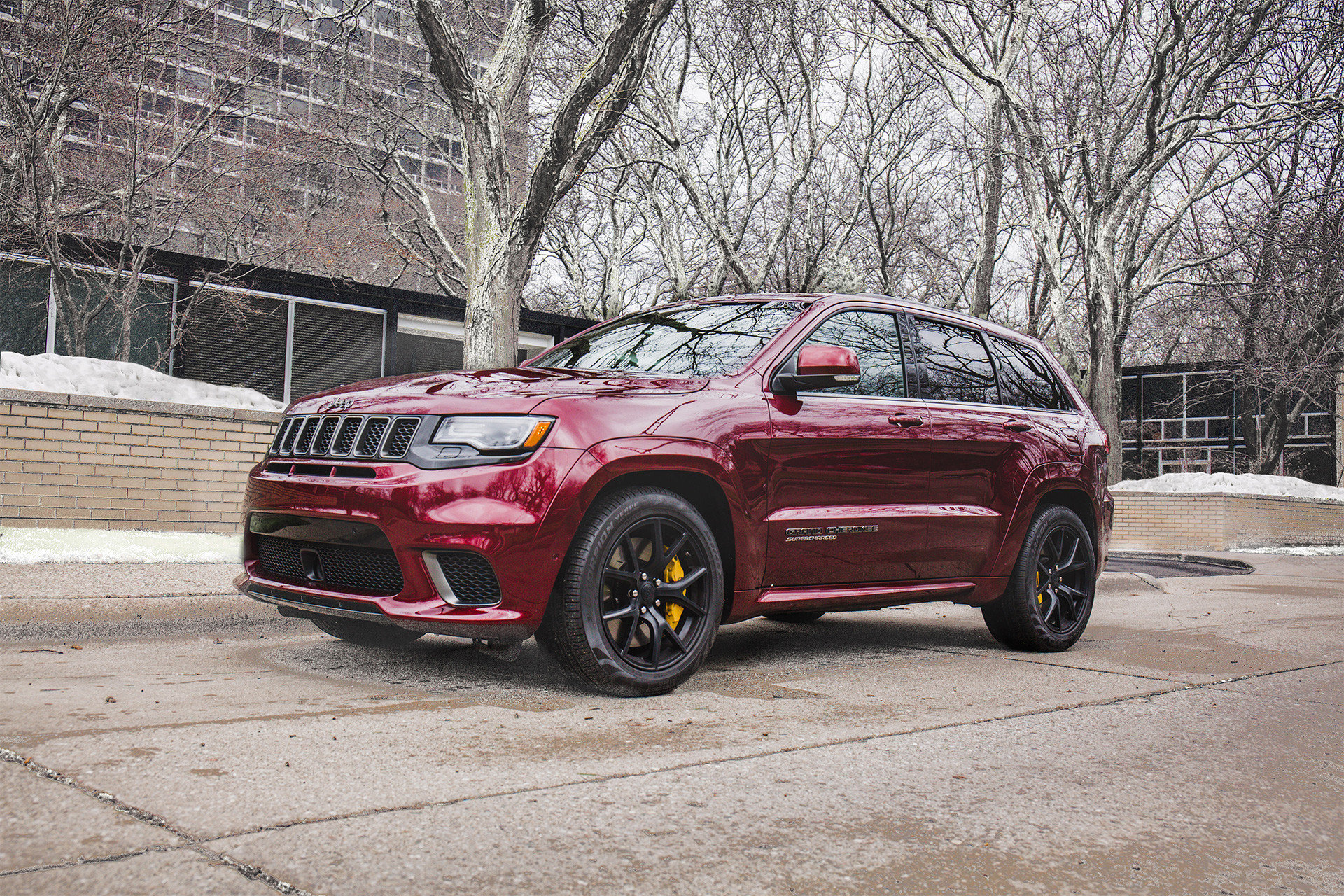 2018 Jeep Grand Cherokee SUV Trackhawk with 707 horsepower