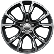 20-inch Satin Carbon split-spoke aluminum