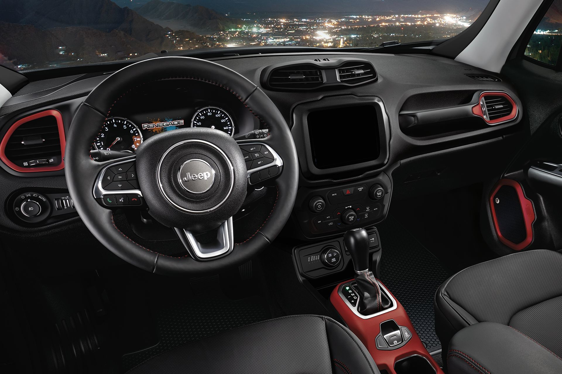 2018 Jeep Renegade interior advanced connectivity with UConnect