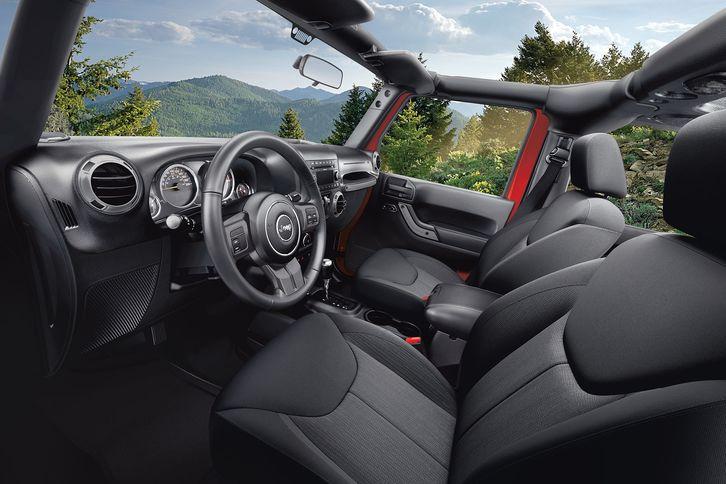 jeep wrangler 4 door interior. jeep wrangler 2018 interior legendary capability meets refined 4 door