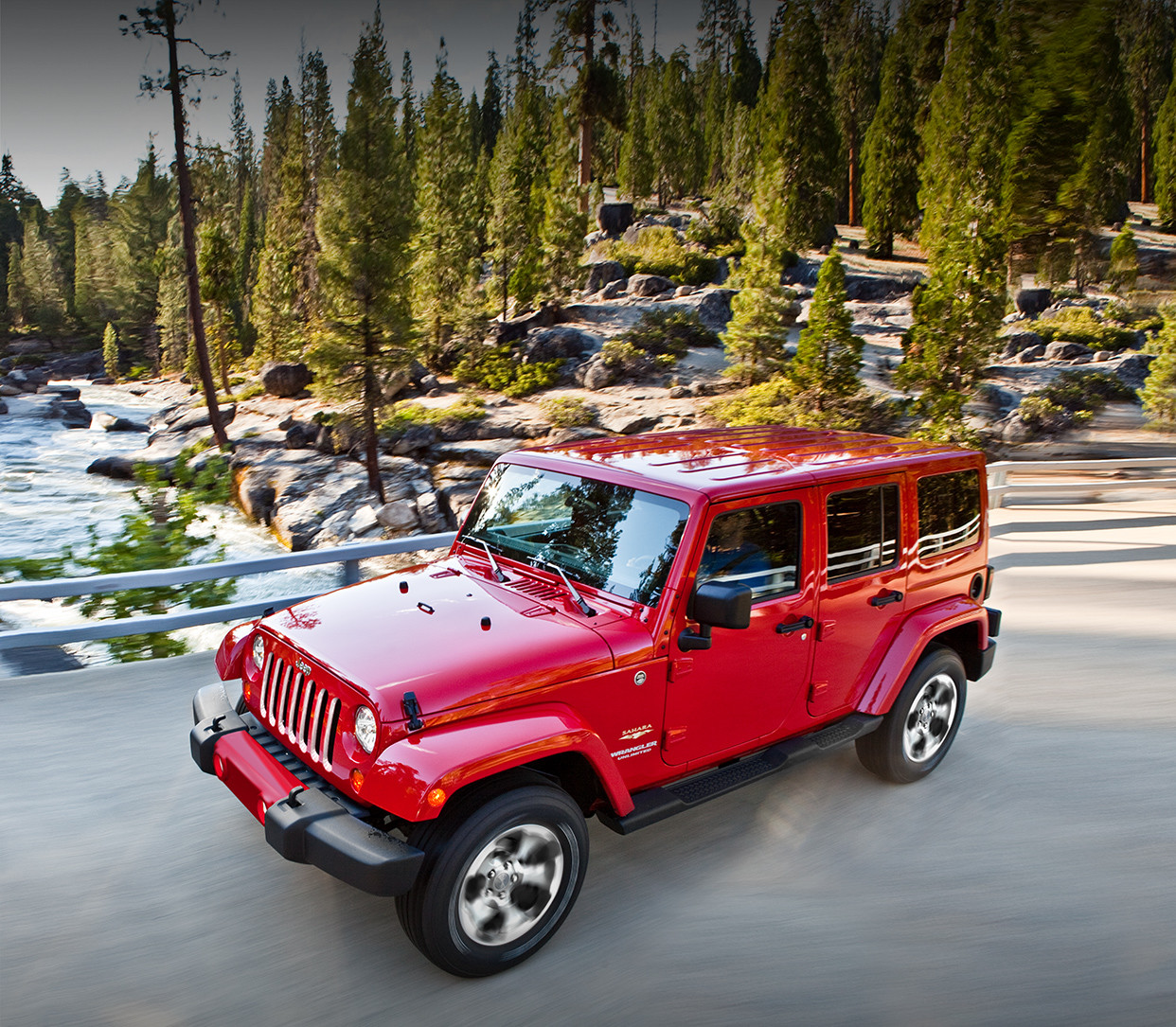 Jeep Wrangler 2018 – orange