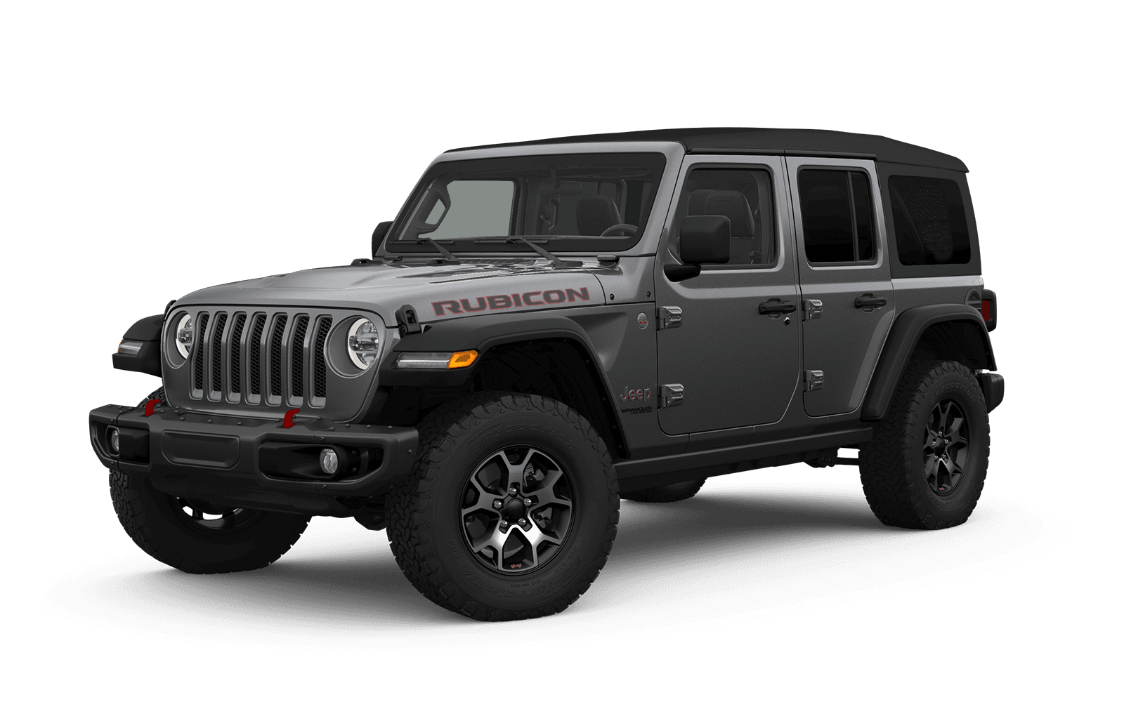2019 Jeep Wrangler Full View in dark Grey with Wheels