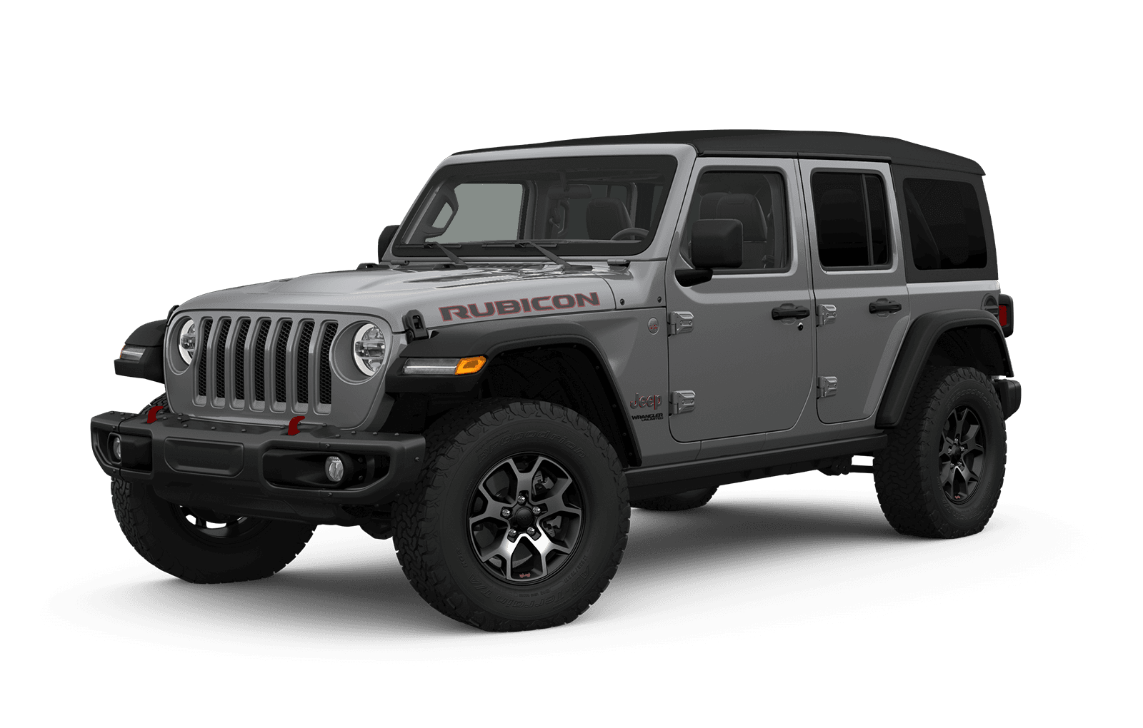 2019 Jeep Wrangler Full View in Medium Grey with Wheels