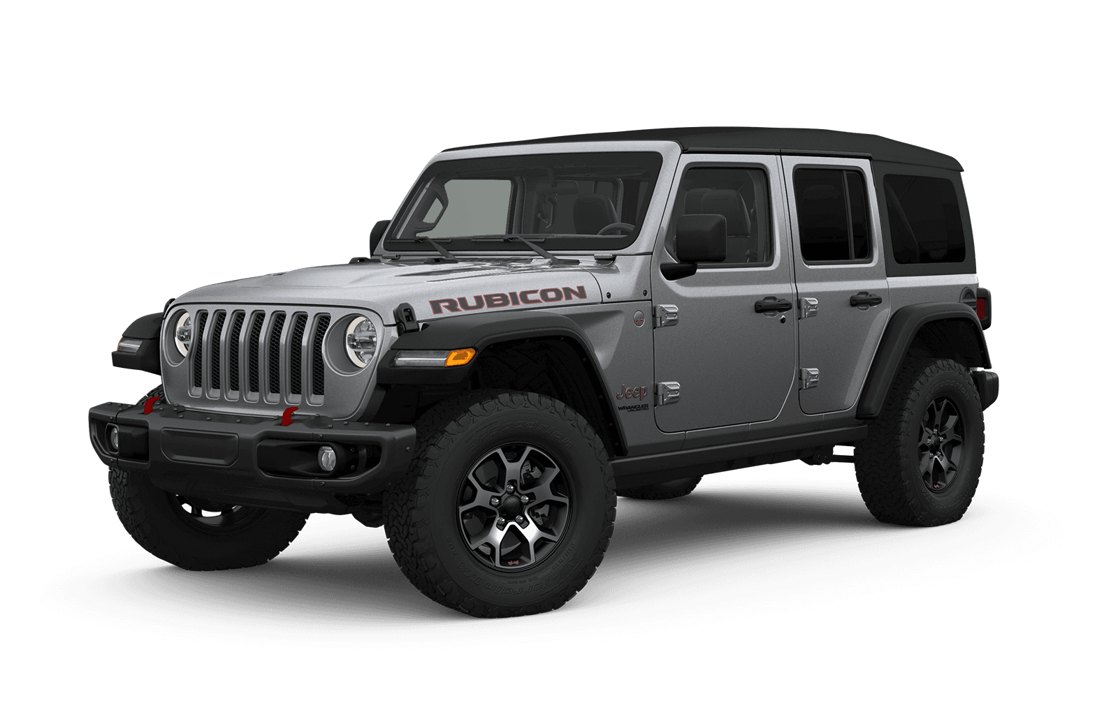 2019 Jeep Wrangler Full View in light grey with Wheels