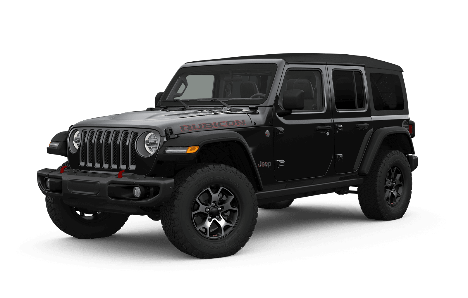 2019 Jeep Wrangler Full View in black with Wheels