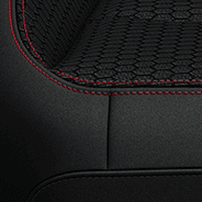 Premium Cloth - Black  with Red embroidered Rubicon<sup>®</sup> logo