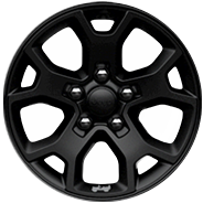 17‑inch Moab Black Aluminum Wheels