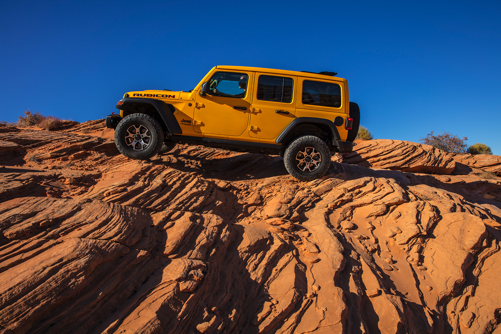 2021 Jeep Wrangler showing the EcoDiesel engine.