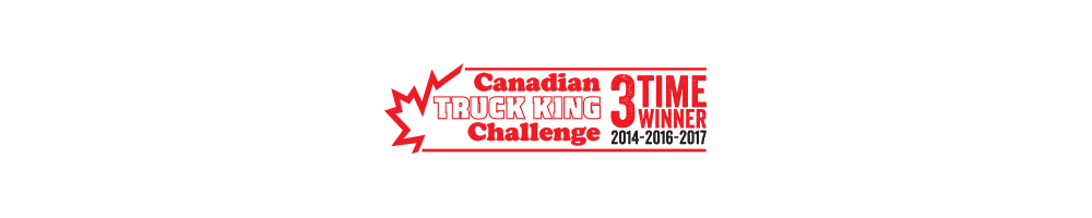 2017 Canadian Truck King Challenge Winner (3-time winner)