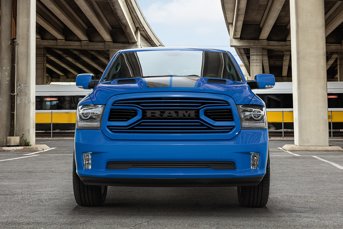 2018 RAM 1500 buzz models hydro blue sport