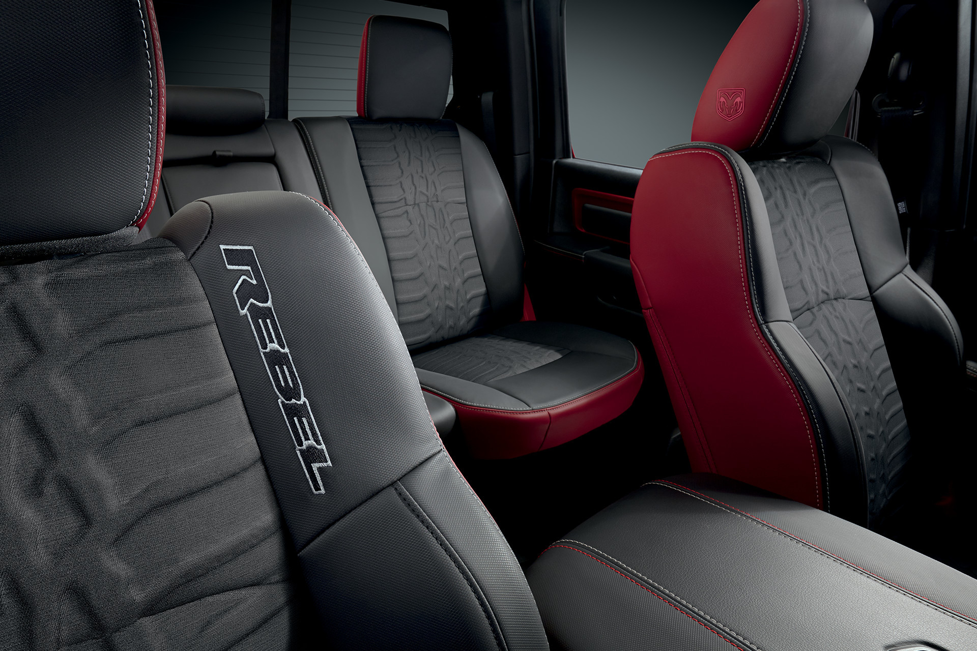 2018 RAM 1500 interior rebel seating