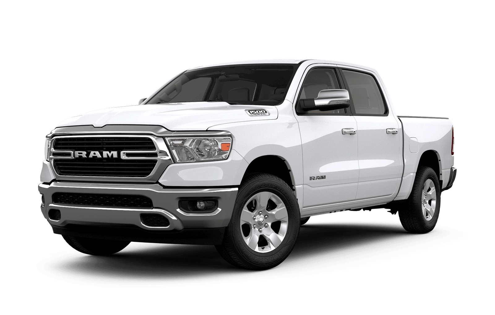 2019 Ram 2019 colour Bright White