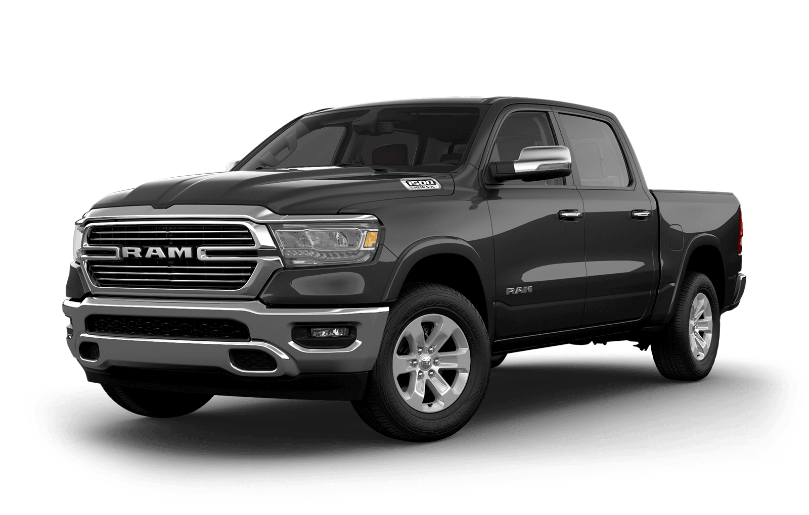 2019 Ram 1500 colour Granite Crystal Metallic