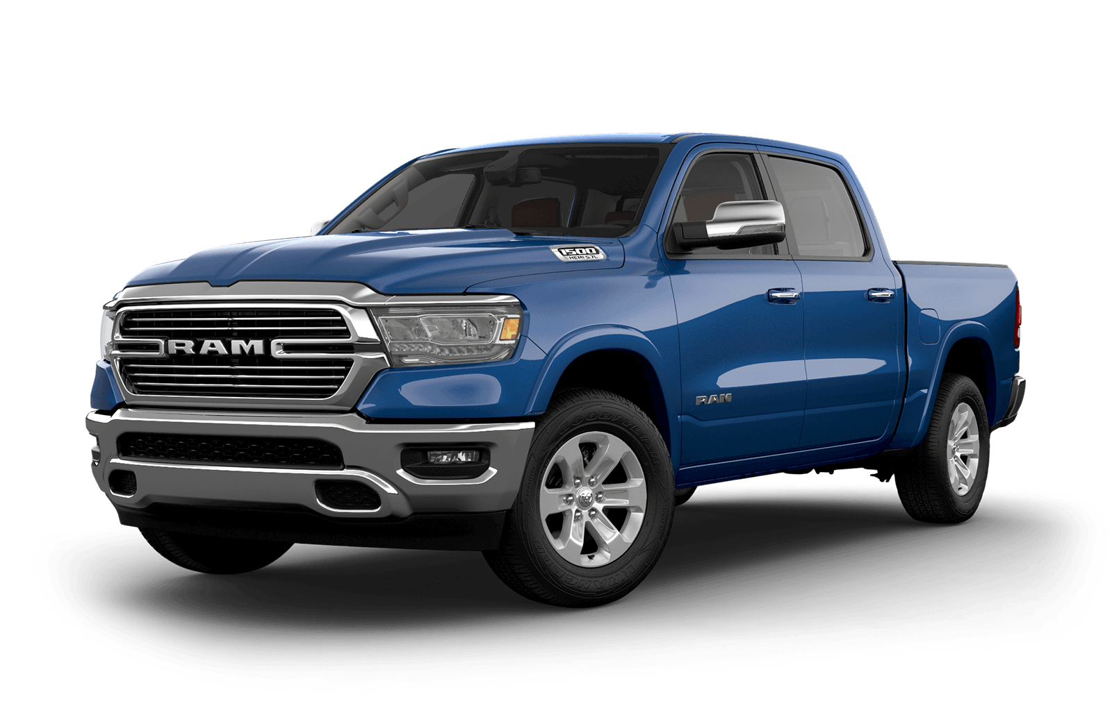 2019 Ram 1500 colour Patriot Blue Pearl