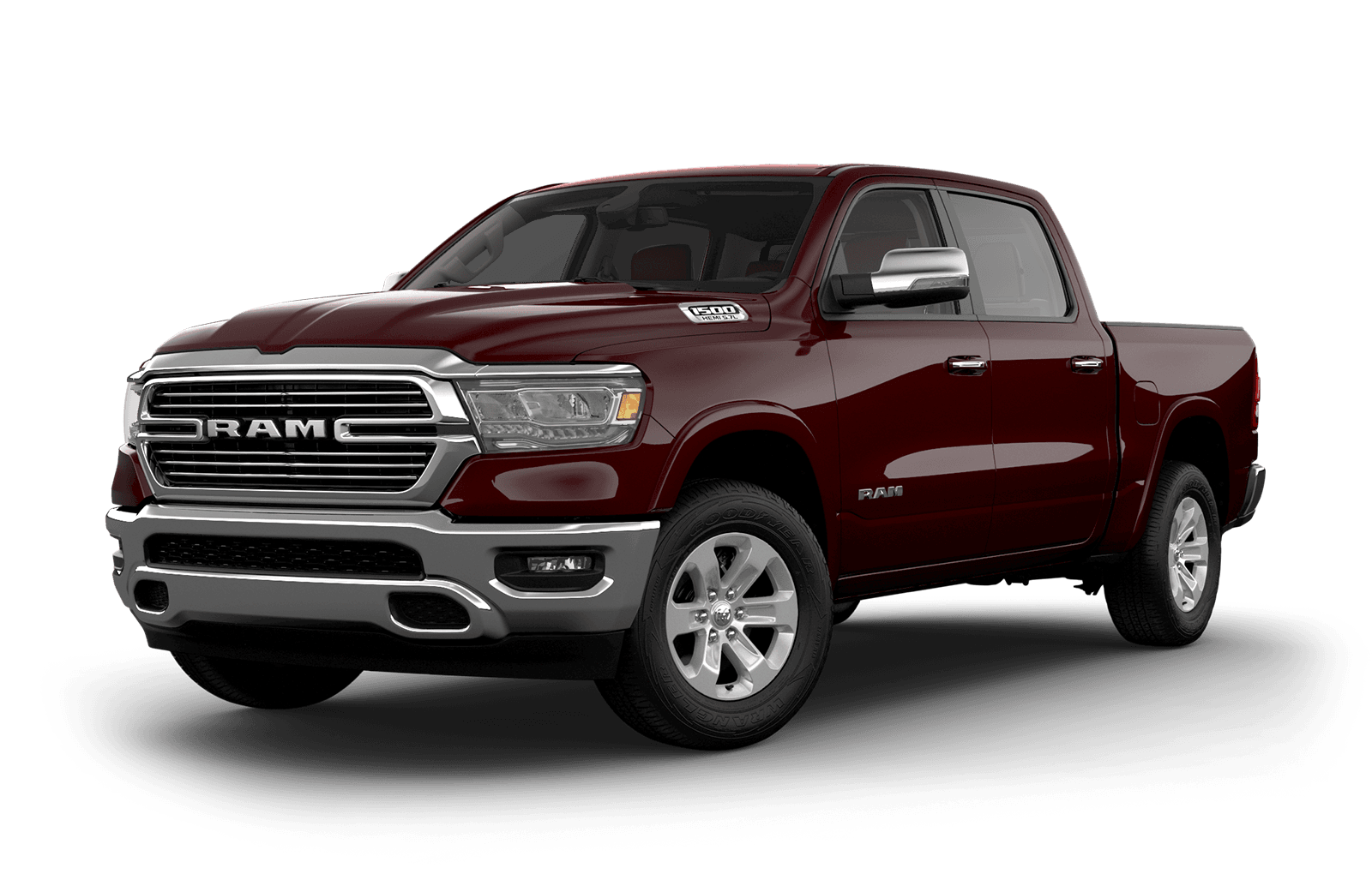 2019 Ram 1500 colour Red Pearl