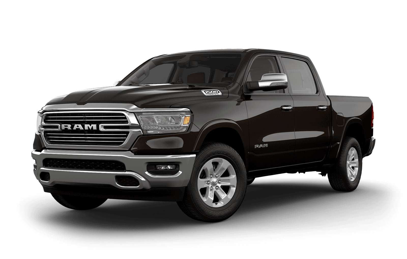 2019 Ram 1500 colour Rugged Brown Pearl
