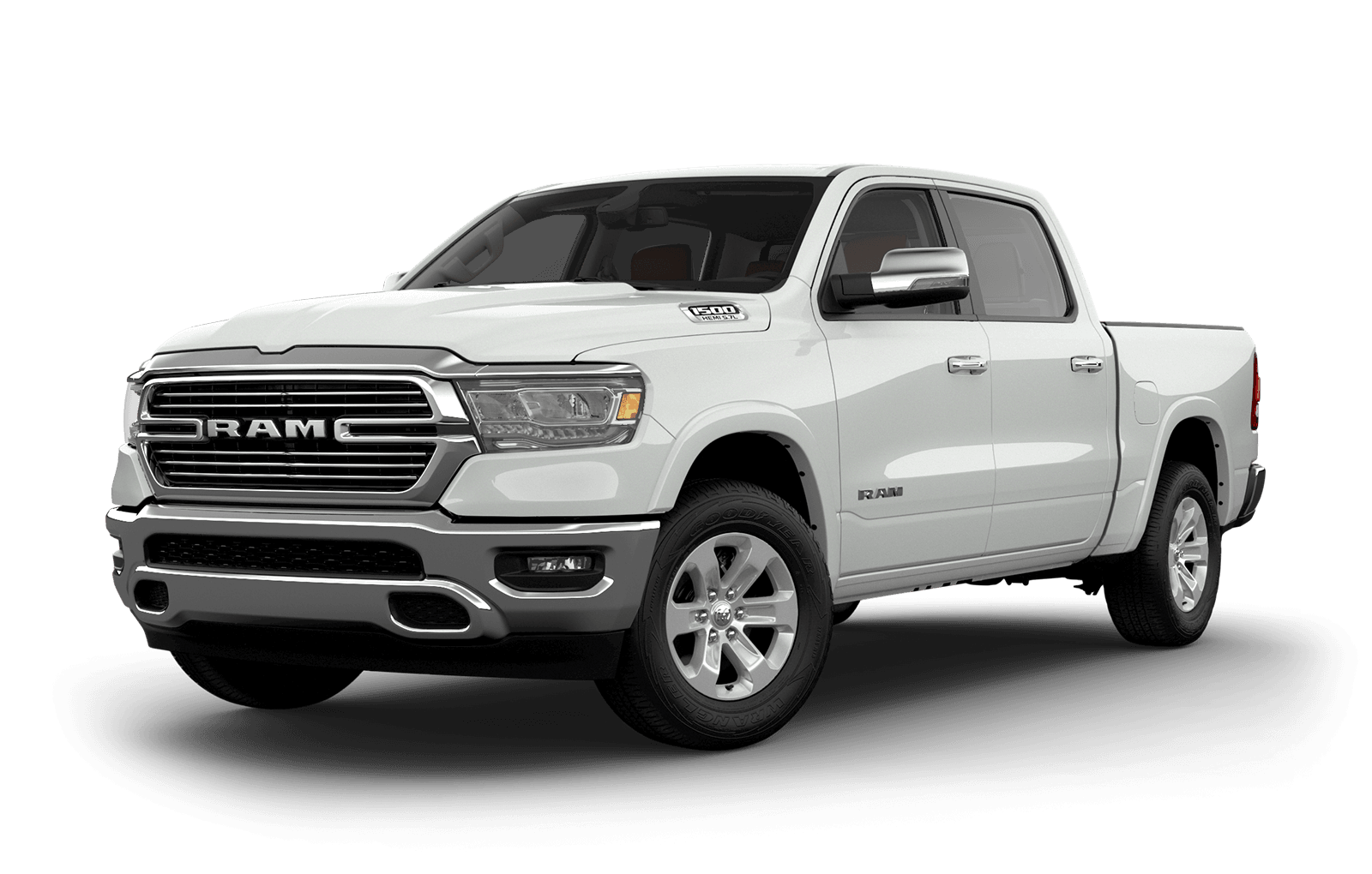 2019 Ram 1500 colour Ivory Tri Coat Pearl