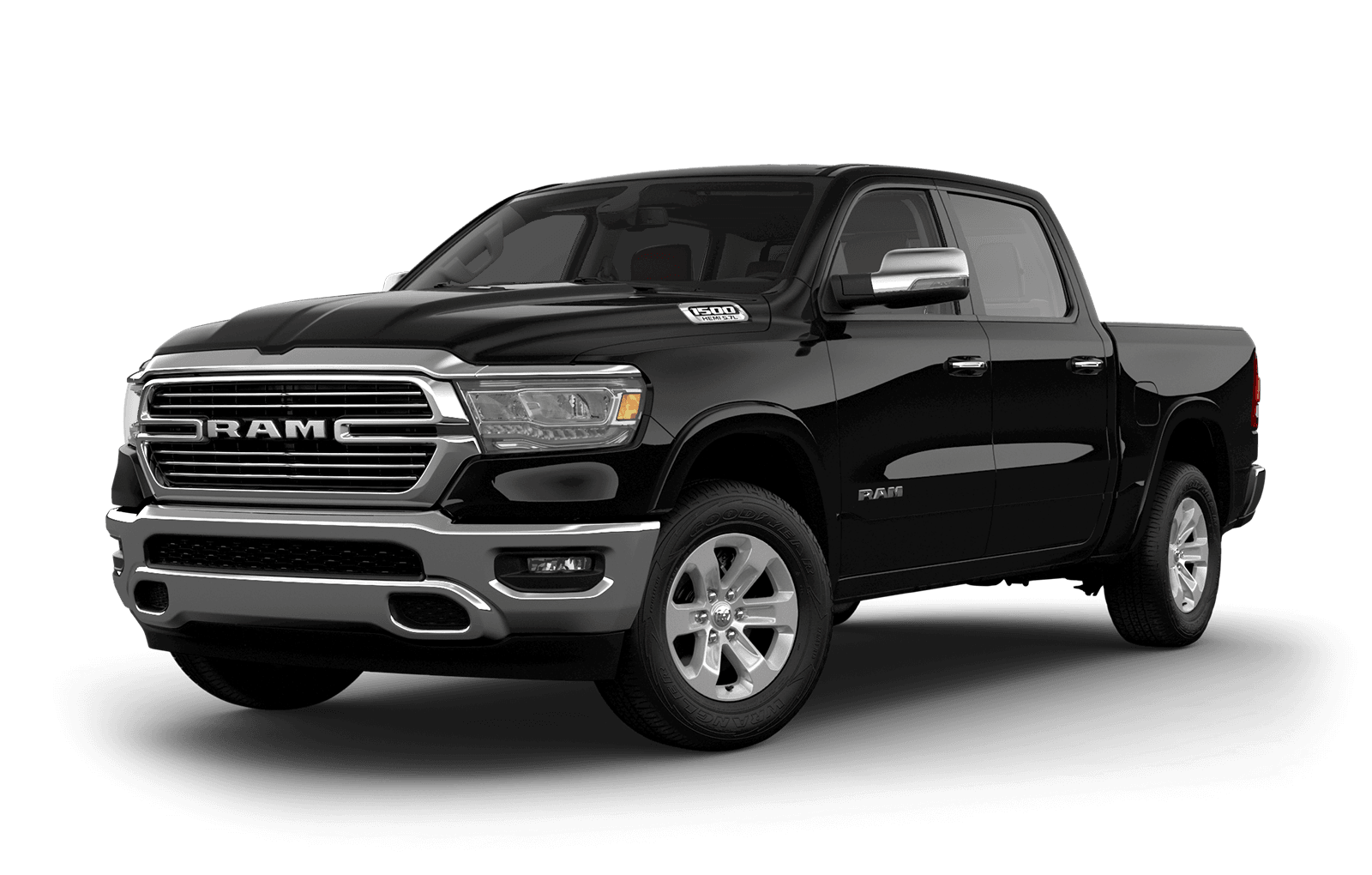 2019 Ram 1500 colour Diamond Black Crystal Pearl