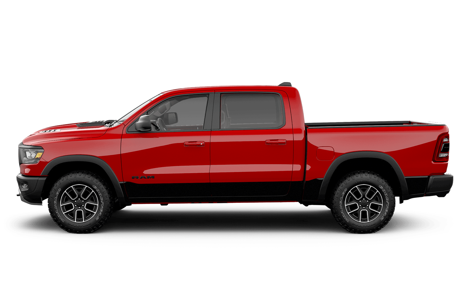 2019 Ram 1500 22inch polished aluminum wheels available on Sport and Laramie