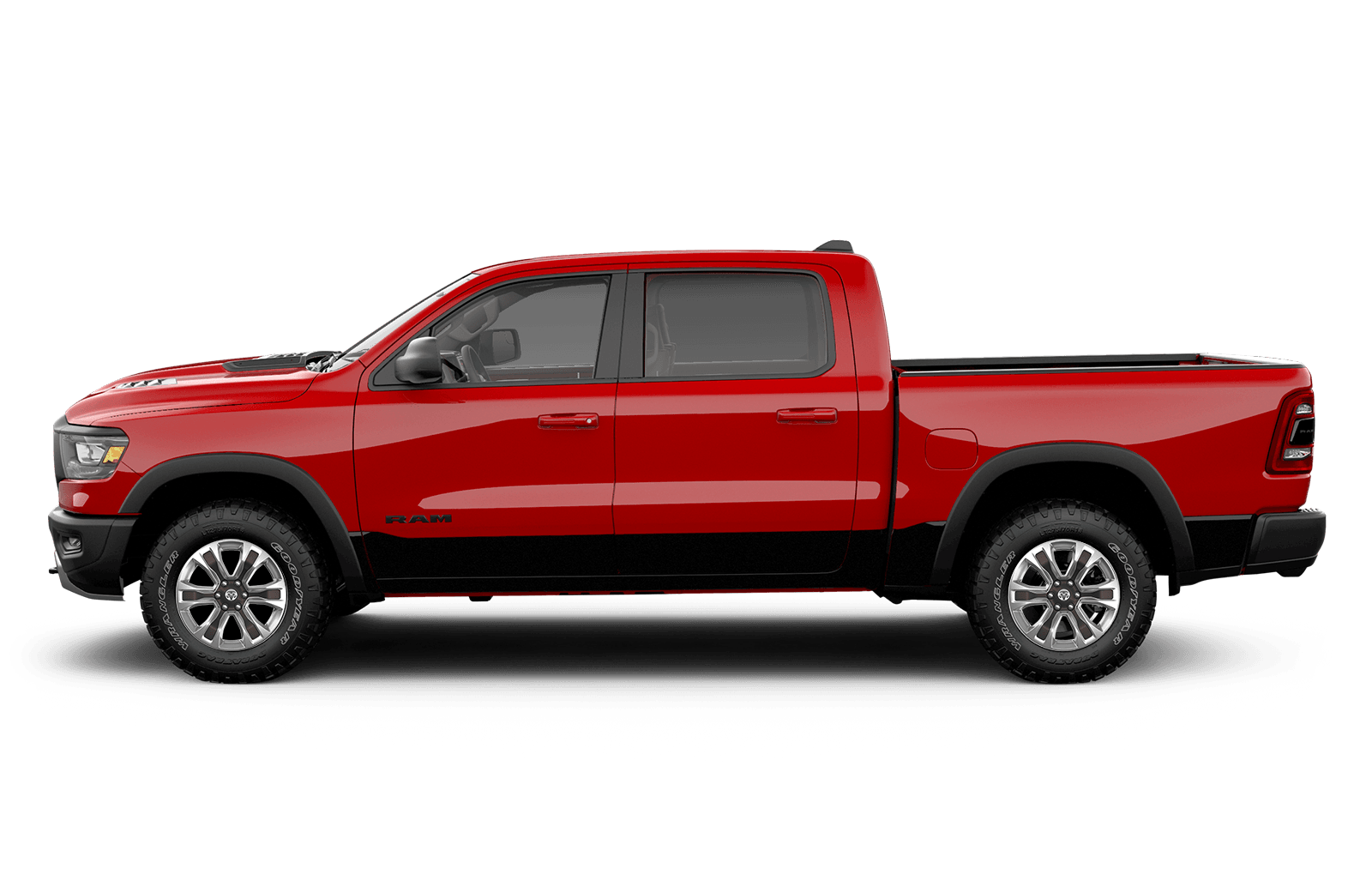 2019 Ram 1500 20inch aluminum wheels on available for Laramie Longhorn with lower two tone paint
