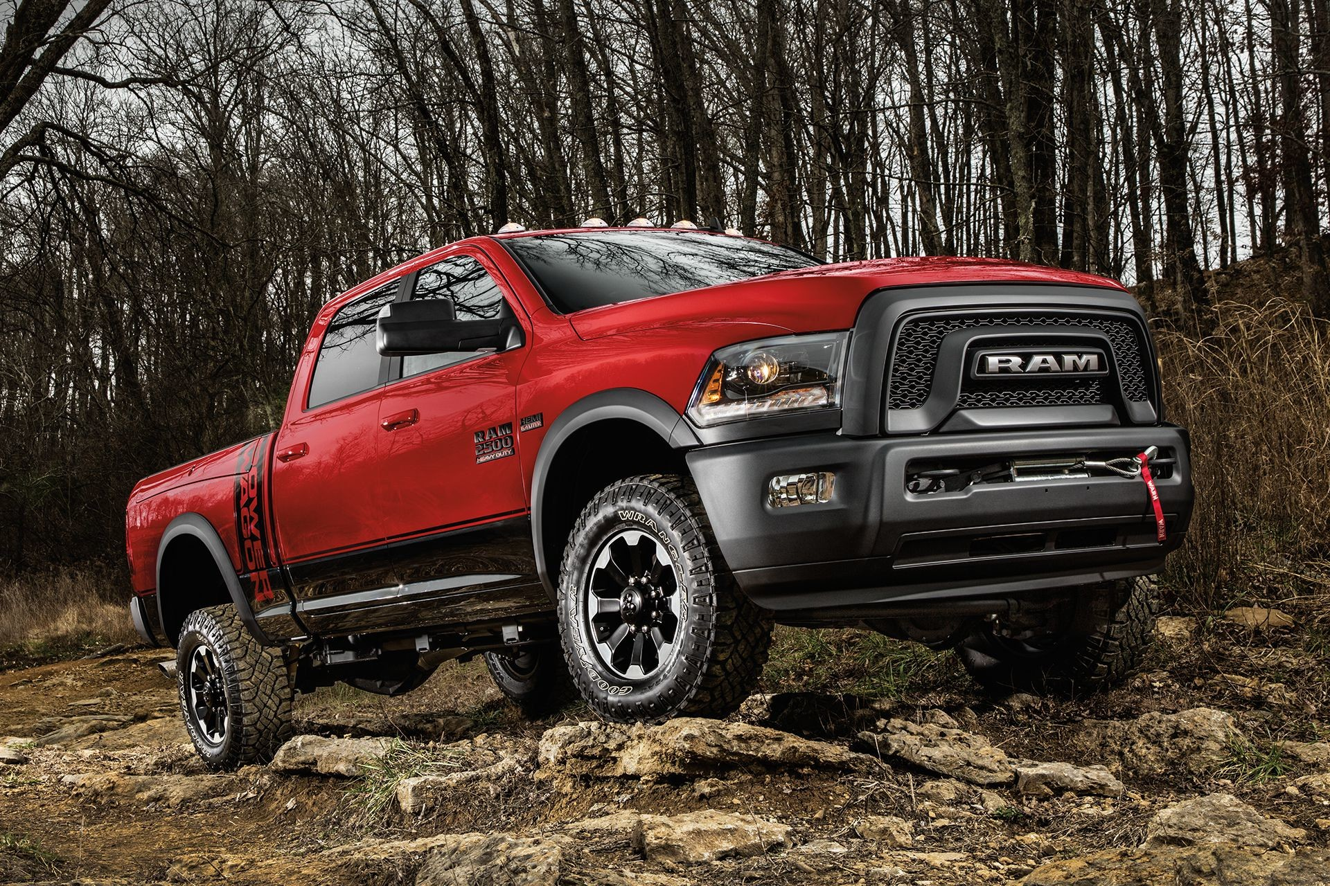 2018 RAM 2500 full-size off-road pickup truck