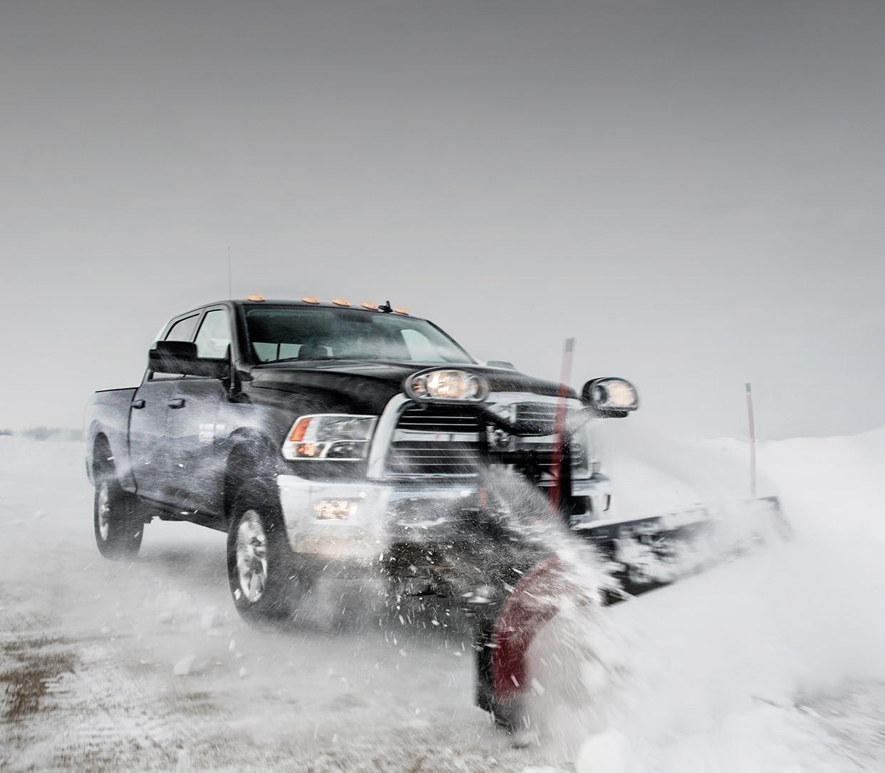 2018 Ram 2500 Pickup Truck Trucks Canada Dodge Maintenance Schedule Side View Shown In Black