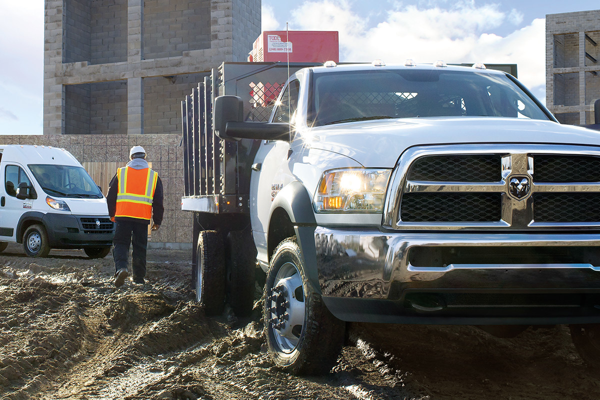 2018 RAM Chassis Cab designed to save fuel