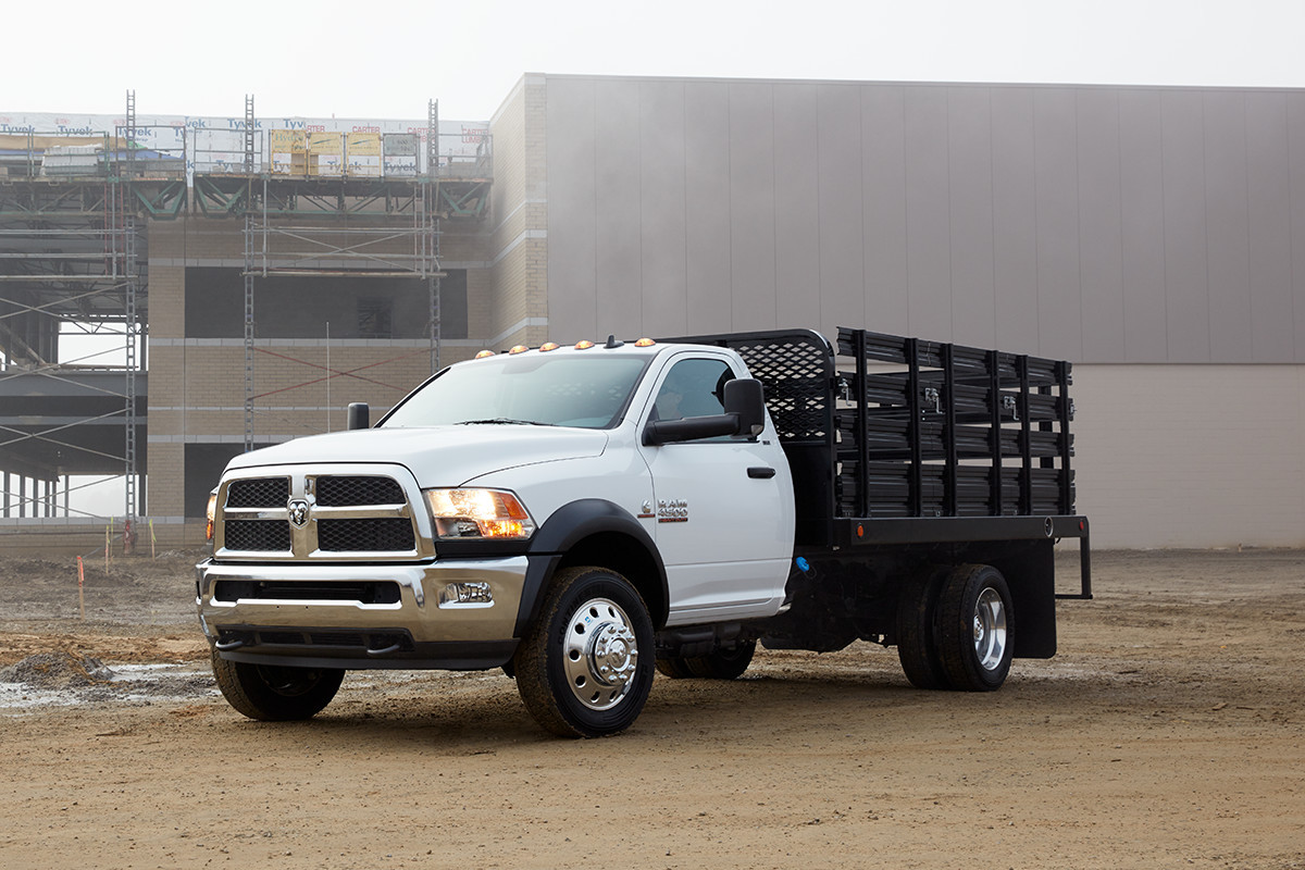 2018 RAM Chassis Cab maximum capability minimum cost