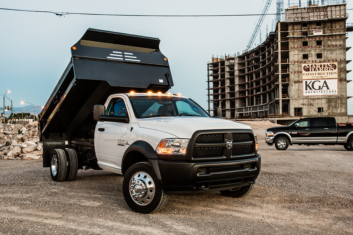 2018 RAM Chassis Cab upfit capabilities - build the ideal vehicle for your business