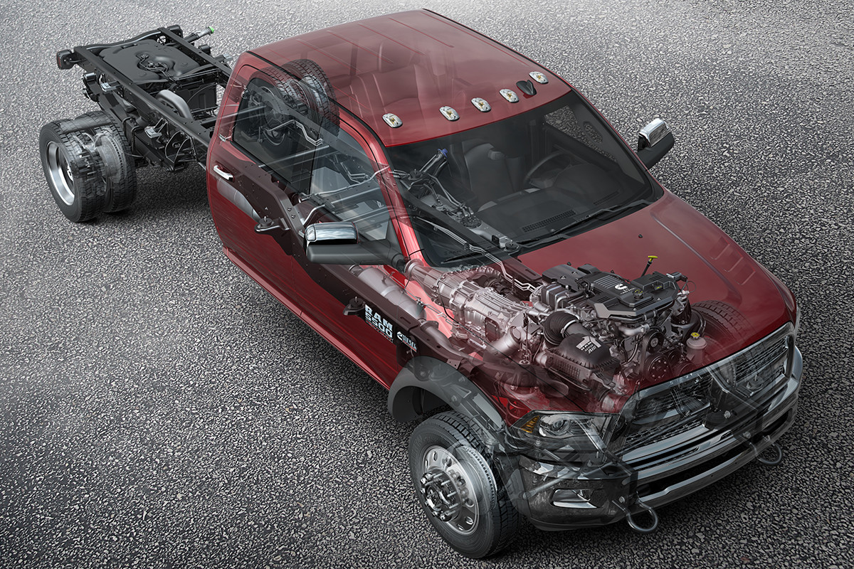 2018 RAM Chassis Cab smart diesel exhaust brake