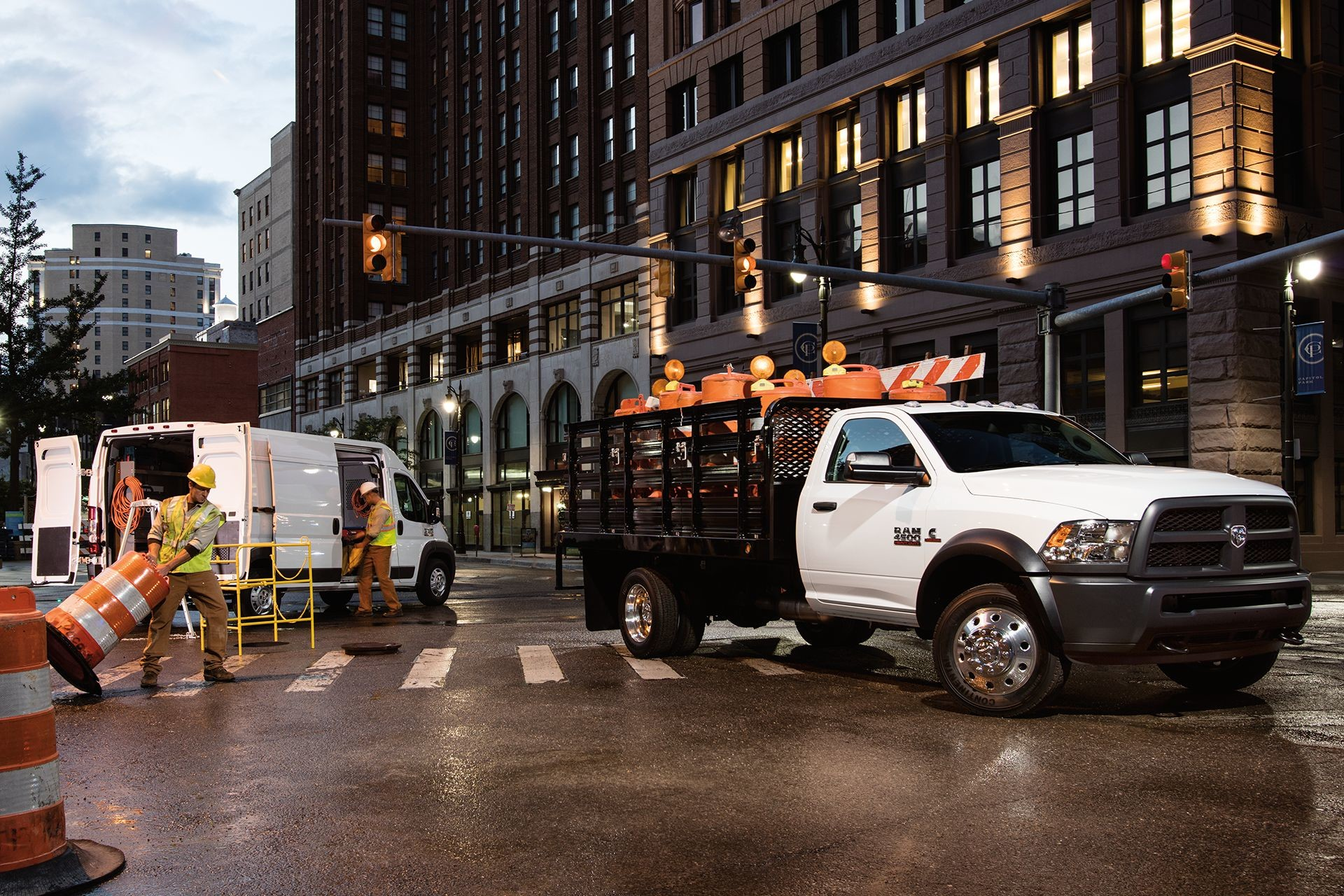 2018 RAM Chassis Cab configuration capability