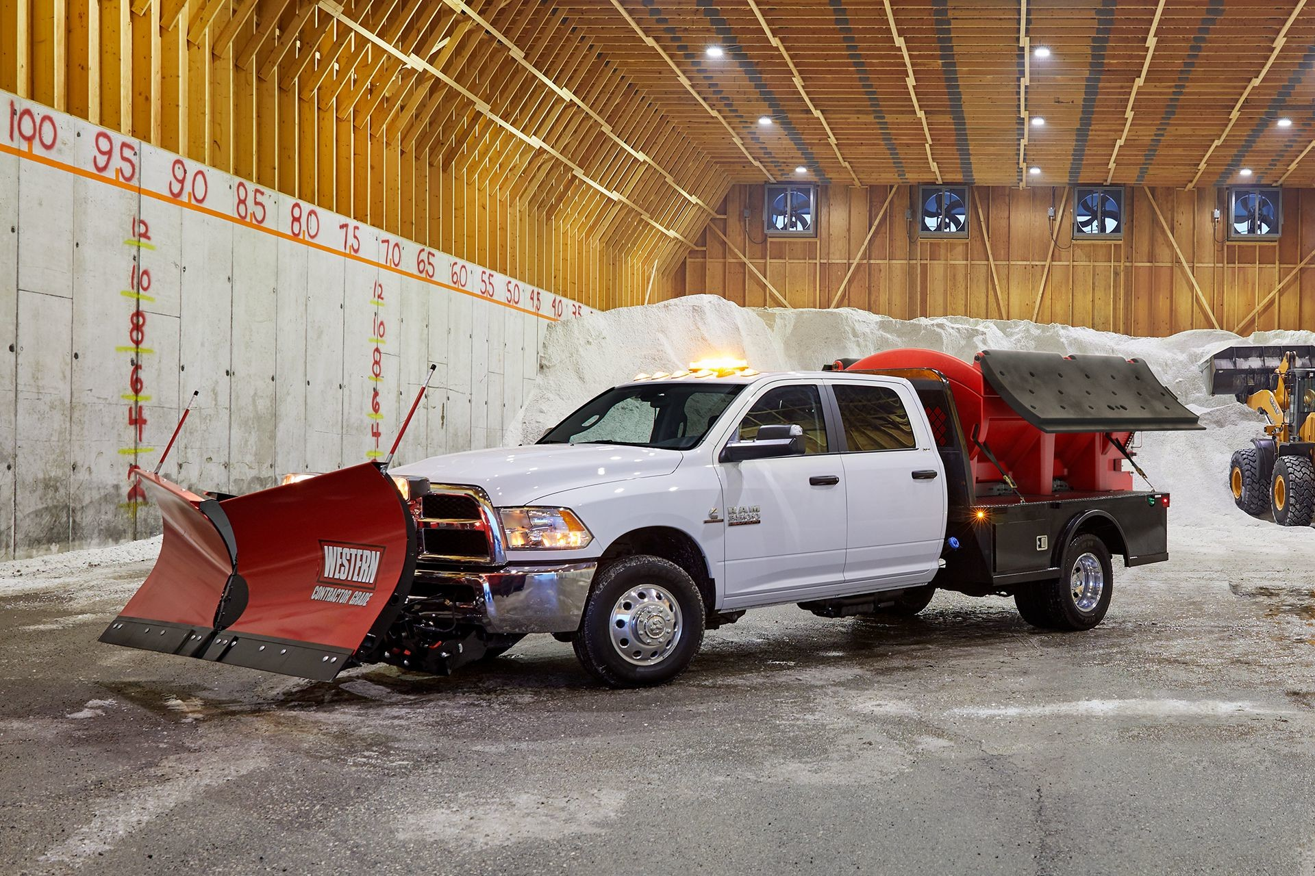 2018 RAM Chassis Cab heavy duty snowplow capabilities