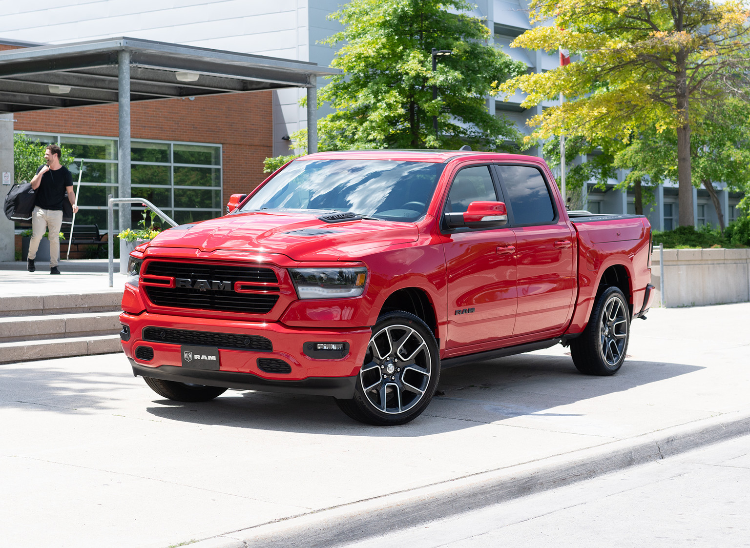 The 2021 Ram 1500 Sport Ram Trucks Canada