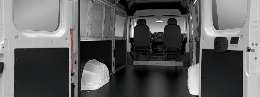 2019 Ram ProMaster interior view of vehicle