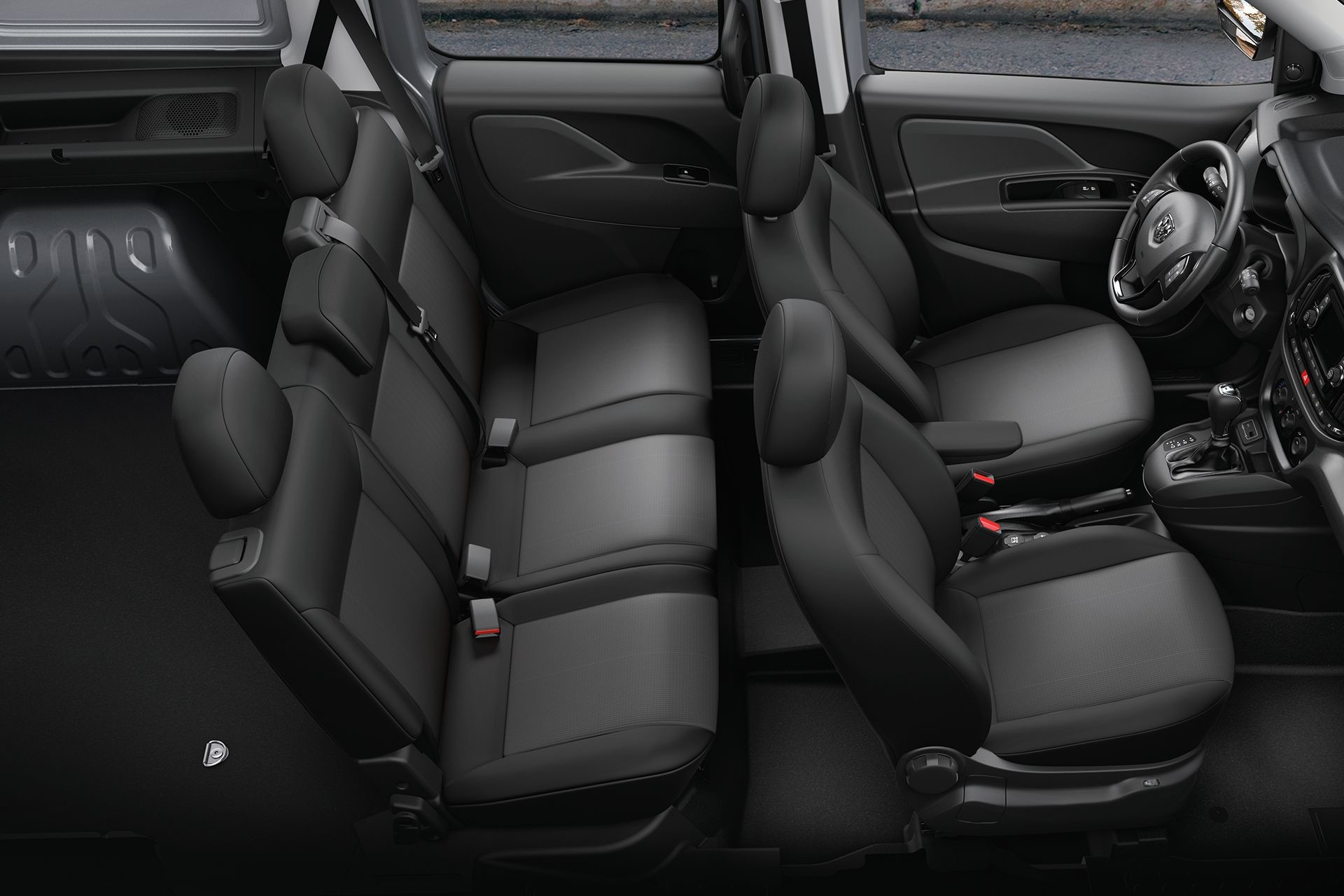 2018 RAM ProMaster City modern wagon comfort for 5, with fold and tumble rear seats